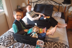 Kids packed