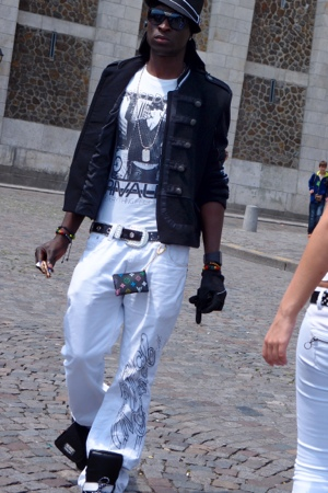 Cool dude near Sacre Coeur