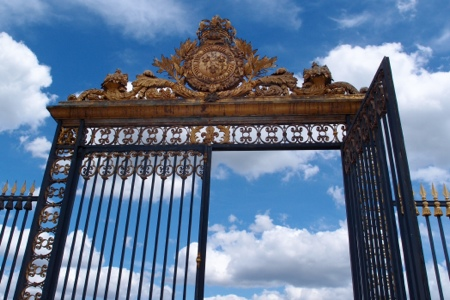 Gate at Versailles