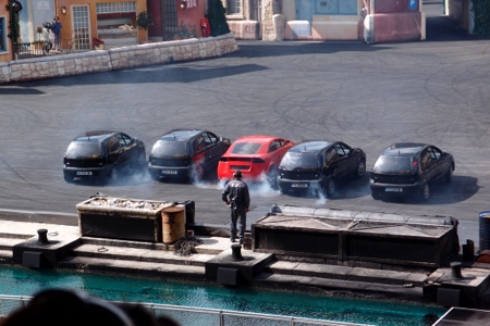 Stunt show at Disney Paris