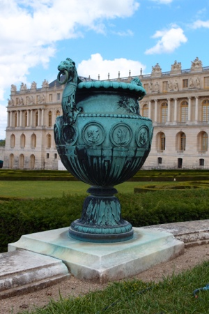 Bronze vase at Versailles