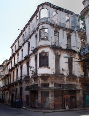 Havana building destined for renovation, perhaps