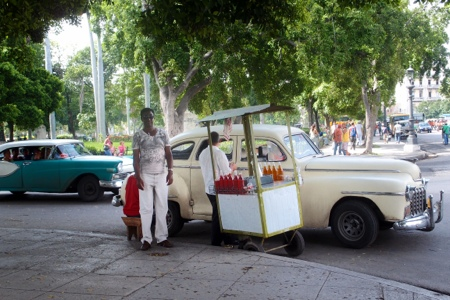 Softdrink street vendor