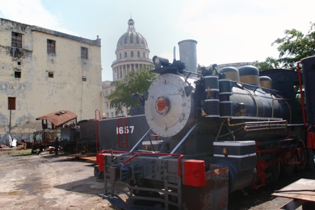 Havana train museum