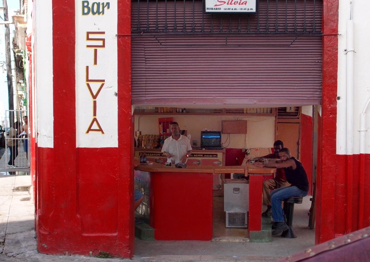 Corner store in Havana