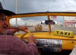 Our cigar smoking Havana cab driver