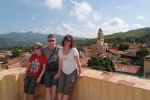 Damien, Nigel and myself overlooking Trinidad