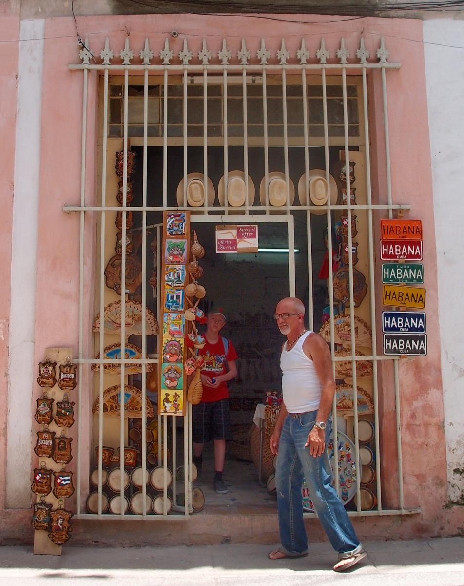 Havana Tourist shop