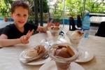 Matthew enjoying Coppelia ice cream Havana