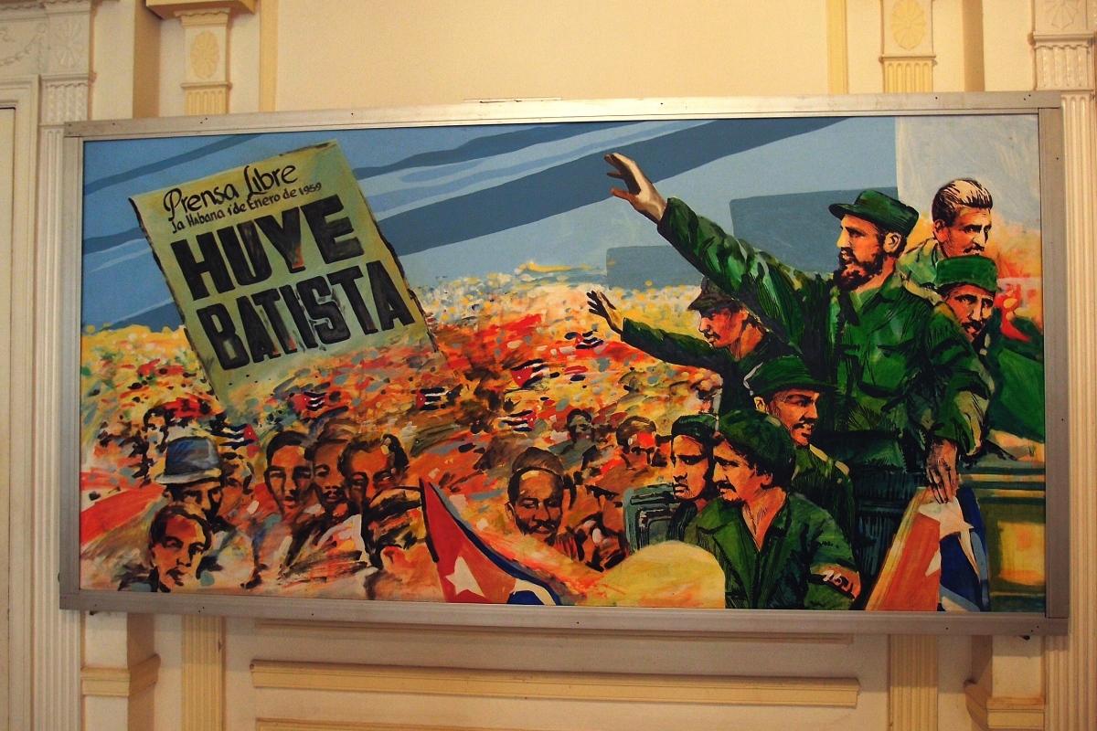 Poster in the Museum of Revolution, Havana