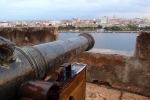 Forteleza de San Carlos de la Cabana looking back over the harbour to Havana
