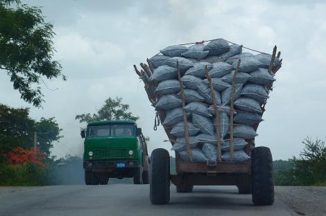 Truck rather full
