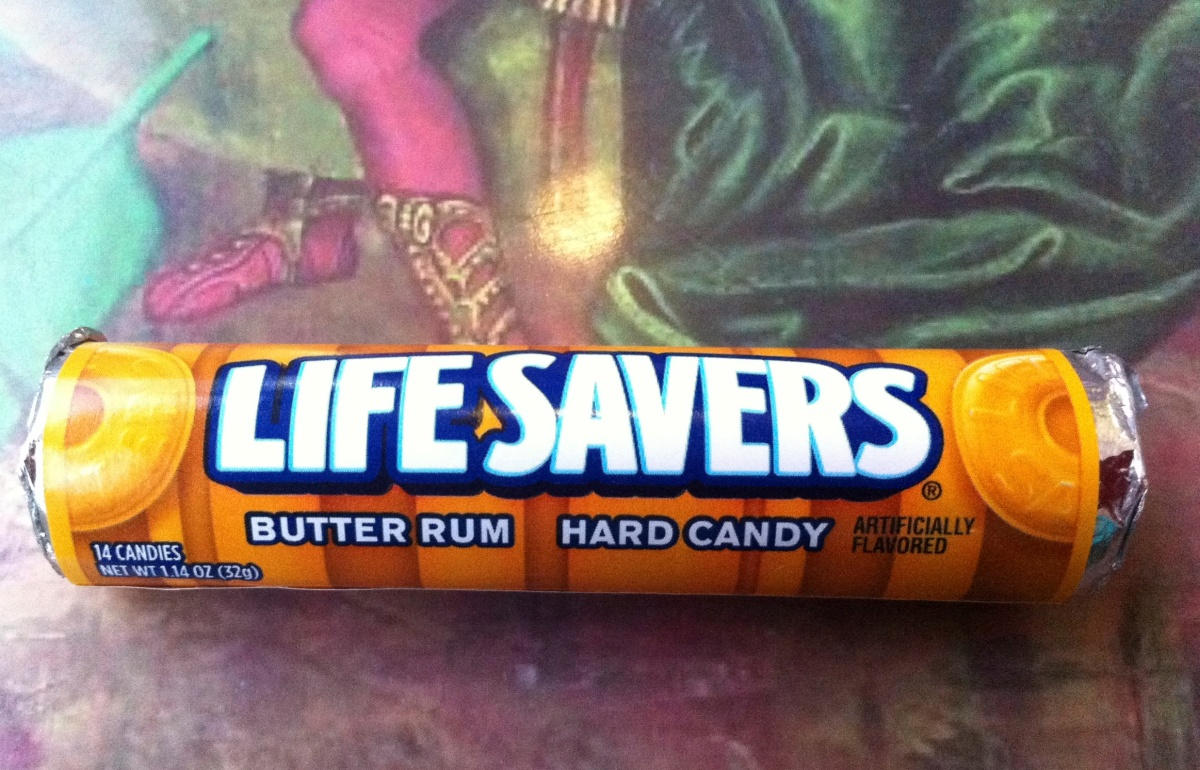 Rum flavoured lifesavers anyone?
