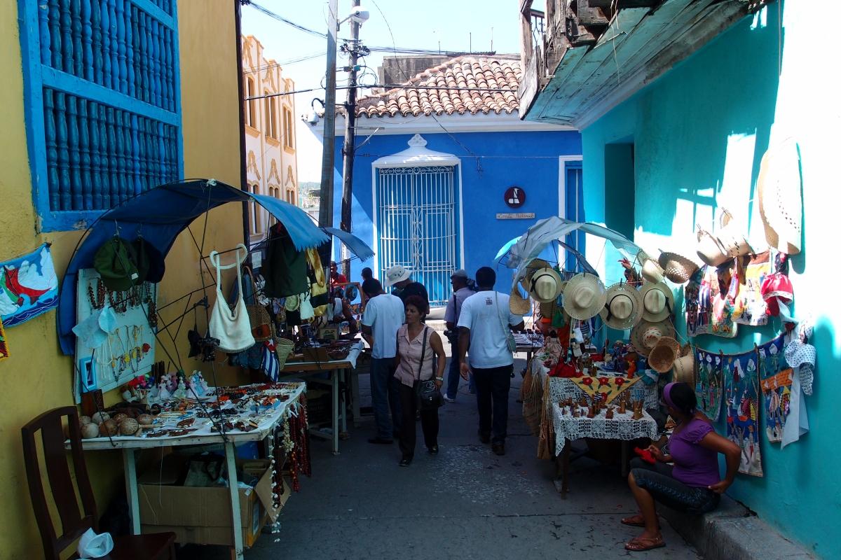 On sale in Santiago de Cuba