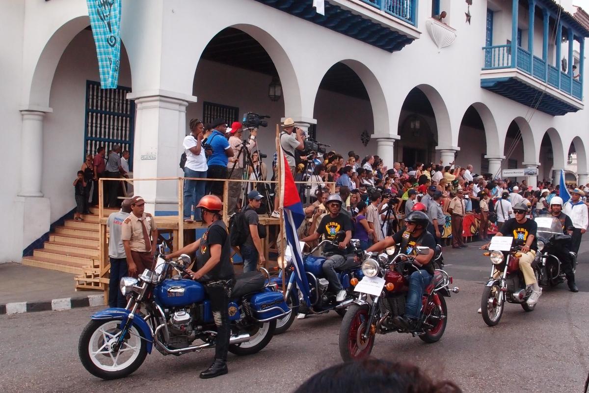 Festival of fire parade