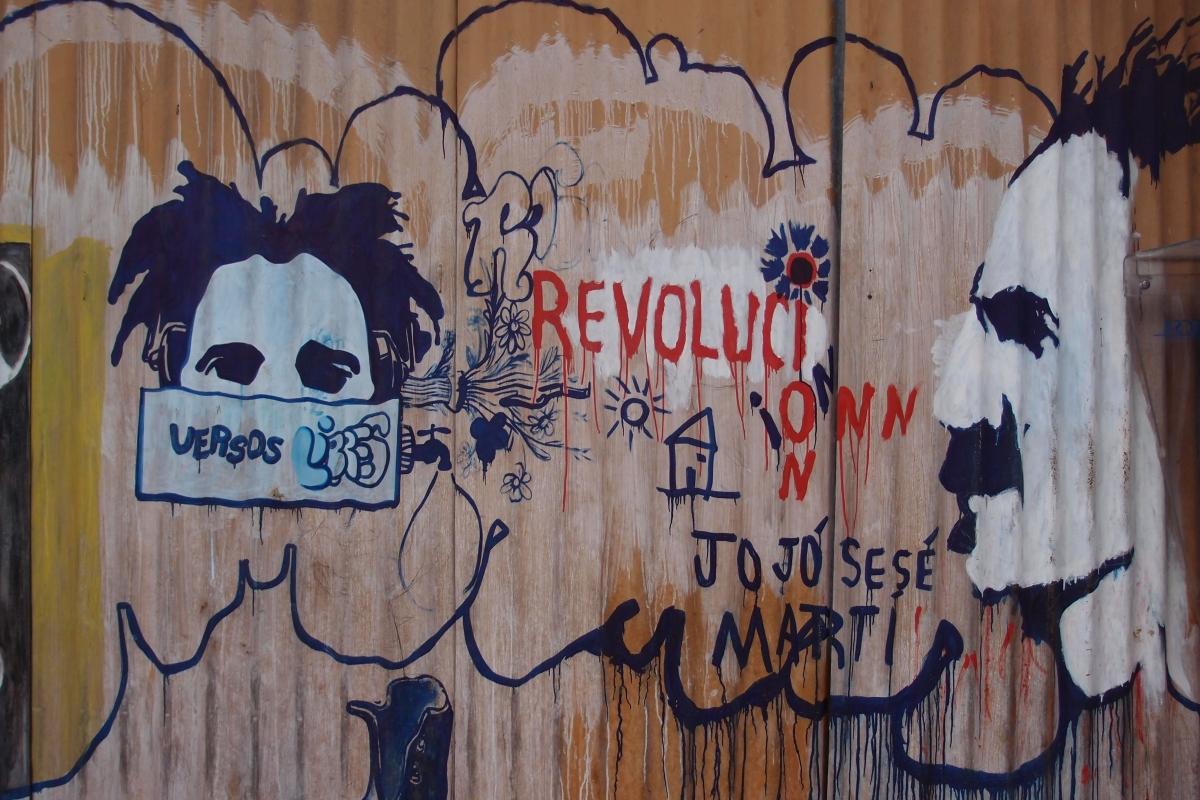 Cuban grafitti