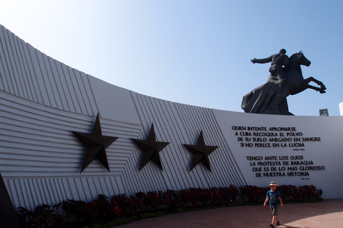 Antonio Maceo statue in Santiago de Cuba