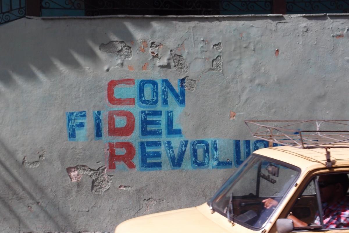 Con Fidel Revolution