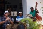 Musicians playing in Casa dev Diego Velazquez