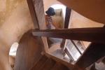Watchtower stairwell Castillo de la Real Fuerza