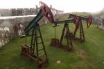 Oil pumps at Forteleza de San Carlos de la Cabana, mabye