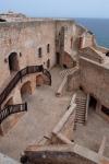 Labyrinth at Castillo de San Pedro de la Roca del Morro
