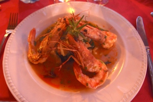 Seville prawn dish