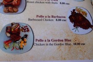 El Holandes menu